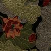 Detailed Waterlilies Jacquard Fabric -- R-Waterlilies -- View Larger Image