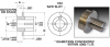 Clamp Type Precision Dial Hubs (inch) -- A 1A16-45615 -Image