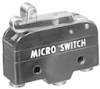 MICRO SWITCH BZ Series Premium Large Basic Switch, Single Pole Double Throw Circuitry, 15 A at 250 Vac, Roller Lever Actuator, Screw Termination, Silver Contacts, UL, CSA, ENEC -- BZ-2RW82212-A2 -Image