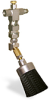 "(Formerly B1049-4X01), Angled Valve Brush, 1 1/2"" Round Nylon, 1/8"" Female NPT Inlet -- B1049-NR4BHW -Image"