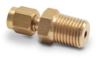 Brass Compression Fitting for 1/8 inch diameter temperature probes -- BCF18-25N - Image
