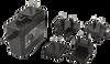 Wall Plug-In Multi Blade AC-DC Power Supply -- SMI24-12 - Image