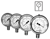 Pressure and Vacuum Gauges - PSI/Bar