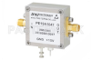 2.2 dB NF Low Noise Amplifier, Operating from 0.03 MHz to 600 MHz with 50 dB Gain, 14 dBm P1dB and SMA -- PE15A1047 -Image