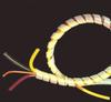 Natural and Black Spiral Wrap -- 41166