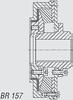 Kuesel Universal Joint Shaft Coupling -- BR 157