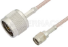 Reverse Polarity SMA Male to N Male Cable 72 Inch Length Using RG316 Coax -- PE34770-72 -Image