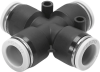 Push-in X connector -- QBX-3/16T-U -Image