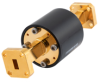 WR-22 Waveguide Isolator with 25 dB Typ Isolation from 26.5 GHz to 40 GHz using Square Cover UG-599/U Flange -- FMWIR1015 -- View Larger Image