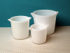 Heavy Wall Tapered HDPE Plastic Beakers -- 312004-1000