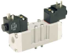 Solenoid Air Valve,4-Way, 3-Pos,Plug In -- 3FFH8