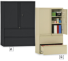 MBI Lateral Files with Storage Cabinet -- 5955121