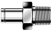Dk-Lok® Male Adapter -- DAM 3M-2R - Image