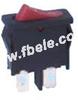 Miniature Rocker Switch -- MRS-101-5 ON-OFF - Image