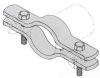 Pipe Clamp -- 580 2400PL
