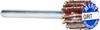 Merit High Performance AO Fine Steel Shank MicroMini Flap Wheel -- 08834137575 -Image
