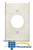 Leviton Single Gang 1.406 Inch Hole Device Receptacle.. -- 88004