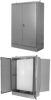 Free Standing Double Door Front & Rear -- N12-FS-DD-DA-48