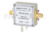 2.5 dB NF Low Noise Amplifier, Operating from 0.01 MHz to 500 MHz with 45 dB Gain, 11 dBm P1dB and SMA -- PE15A1046 -Image