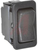 Switch, EURO-Rocker,NON-Illuminated,Rated:15A,125VAC;15A,28VDC,SPDT,(ON)-OFF-(ON -- 70155790 - Image