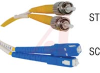 PATCH CORD, FIBER OPTIC, DUPLEX SINGLE MODE, ST-SC 3M -- 70121404