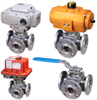 3-Way Flanged Ball Valves -- MPF Series
