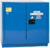 Eagle 22 gal Blue Hazardous Material Storage Cabinet - 35 in Width - 35 in Height - Under Counter - 048441-33390 -- 048441-33390 - Image