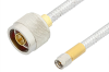 SMA Male to N Male Cable 12 Inch Length Using PE-SR401FL Coax -- PE34263-12 -- View Larger Image