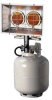 HEATSTAR MH24T 28,000 BTU Tank Top Portable Propane Radiant -- Model# F273600