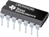 LMC6484QML CMOS Quad Rail to Rail Input and Output Operational Amplifier -- LMC6484AMWG/883 -Image