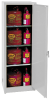 Flammable Liquid Safety Storage Self-Close Cabinet -- CAB137-GRAY
