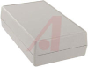 Enclosure, Utilibox; ABS Plastic; Textured Body with Smooth Insert; Gray -- 70148265