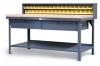 All-Purpose Shop Table -- T7236-MT-34DB-2DB - Image
