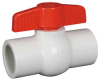 1 1/2 WHITE PVC COMPACT, THREADED -- 4YLJ7
