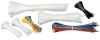 "650-Pack Assorted Colors 1/8""W x 4""L-7""L-11""L Cable Zip Ties -- FT917 -- View Larger Image"