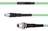 Temperature Conditioned Low Loss SMA Male to N Female Bulkhead Cable LL335i Coax in 36 Inch -- FMHR0230-36 -Image