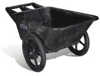 BIG WHEEL CART 7.5 CU FT 58X32.75X28.25 BLA -- RCP 5642 BLA