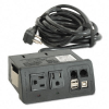 Two-Outlet Data Port, 120V, 10ft Cord, 5-1/2w x 2-1/4d x 6-1 -- AC99840