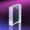 Plano-Concave Cylindrical Lens - UV Fused Silica -Image