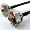 7/16 DIN Male to 7/16 DIN Male Cable LMR-240 Coax in 12 Inch -- FMC1515240-12 - Image