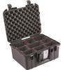 "Pelican 1507 Air Case with TrekPakâ""¢ Dividers - Black   SPECIAL PRICE IN CART -- PEL-015070-0050-110 -Image"