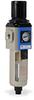 Pneumatic / Compressed Air Filter-Regulator: 1/4 inch NPT female ports -- AFR-3233-M - Image