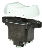 TP Series Rocker Switch, 2 pole, 3 position, Screw terminal, Above Panel Mounting -- 2TP216-7 -Image