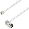 SMA Male to TNC Male Right Angle Cable Assembly using LC141TB Coax, 10 FT -- LCCA30423-FT10 -Image