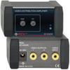 Video Distribution Amplifier - 1X2 RCA NTSC/PAL -- EZ-VDA2R