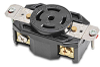 30A Heavy-duty Single Receptacle: locking, 120/208 VAC, NEMA L21-30 -- 72130FR