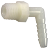 Plastic I.D. Barb to Male Pipe Elbow -- No. 229N