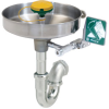 Wall Mounted, Stainless Bowl Eye/face Wash With AXION MSR™ Eye/face Wash Head -- 7360BT-7460BT