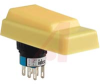Switch,SAFETY,Pushbutton ASSEMBLY ENABLING,WITH YELLOW RUBBER COVER -- 70172663