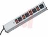 Outlet Strip; 4; 15 A; 120 V; Aluminum;Putty White; 14/3 SJT; NEMA 5-15P -- 70091543